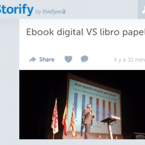 Storify del I Congreso Libro Ebook Digital